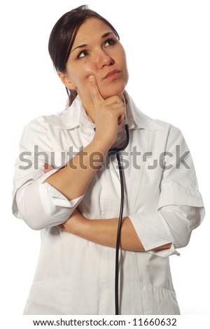 female doctor - stock photo