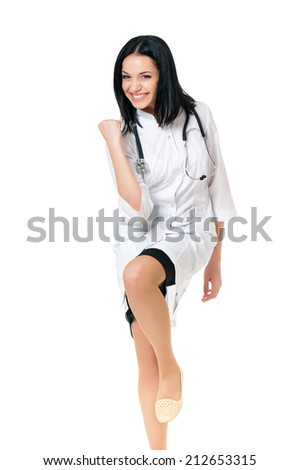 Female doctor - stock photo
