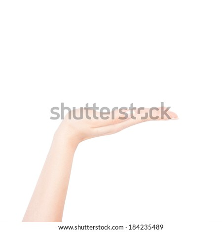 Female hand action