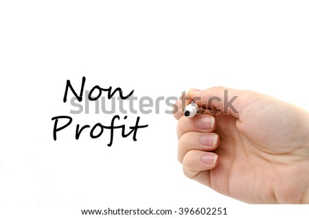 Female hand is ready for drawing with black marker - stock photo