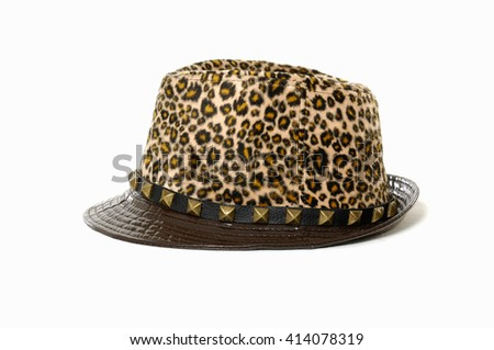 Female hat isolated