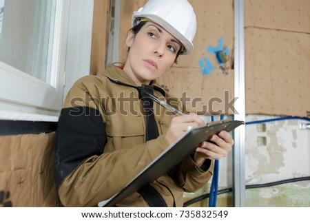 female health and safety inspector