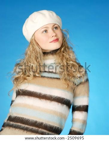 female in take - stock photo
