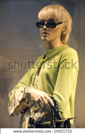 female Manikin - stock photo