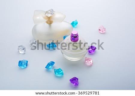 female perfume - stock photo