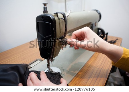 Sewing machines and female masturbation