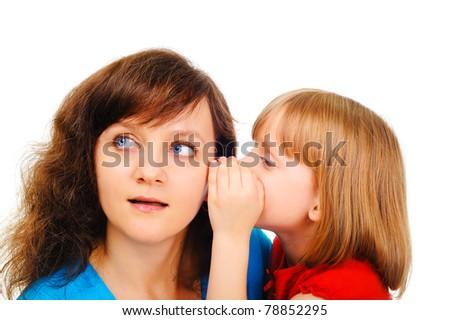 Female secrets - stock photo