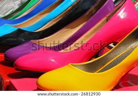 female shoe - stock photo