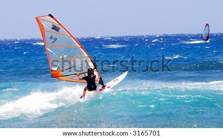 Female Surfer - stock photo