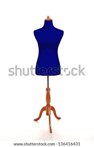 Female torso mannequin - stock photo