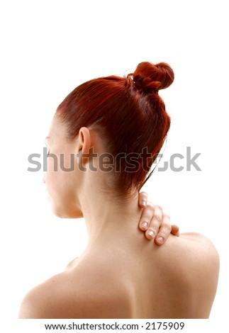 nape neck stock images, royalty-free images & vectors | shutterstock, Cephalic Vein
