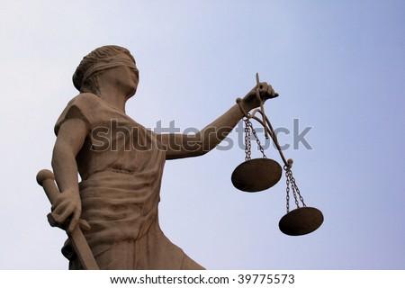 Femida - simbol of justis - stock photo