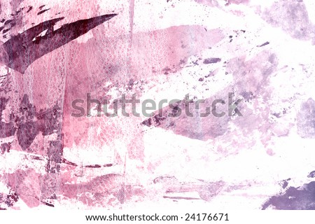 Feminine grunge with netted fabric embedded. - stock photo