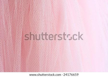 Feminine pink fabric background. - stock photo