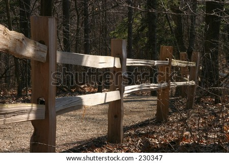 Fence and Pathway