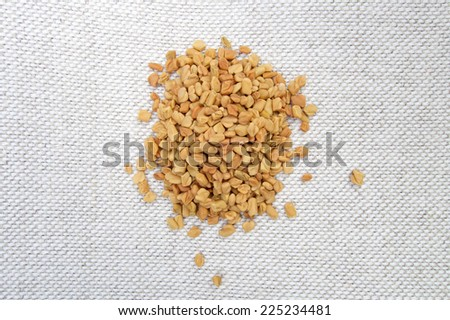 Fenugreek seeds spices