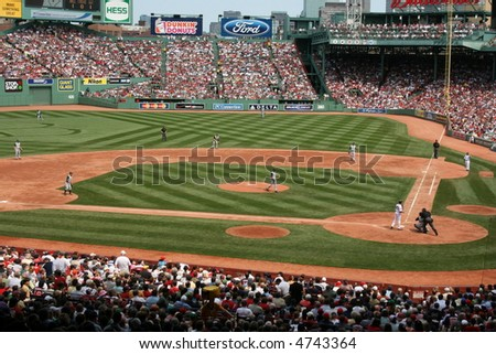 Fenway Park, Boston. - stock photo