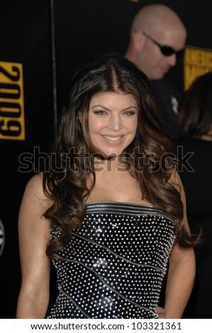 Fergie at the 2009 American Music Awards Arrivals, Nokia Theater, Los Angeles, CA. 11-22-09