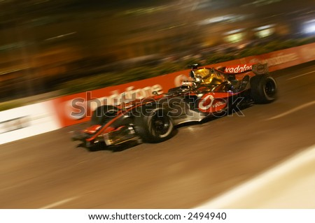 Fernando Alonso (2007), Presentation MacLaren -  Mercedes Team  (Valencia - Spain  2007, 15 January) - stock photo