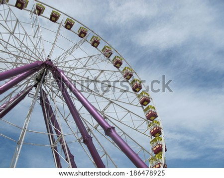 Ferris Wheel at Geelong Waterfront  - stock photo
