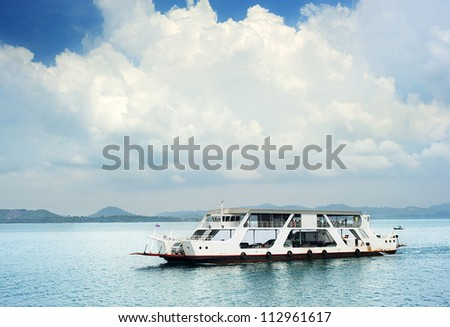 Ferry boat in Thailand