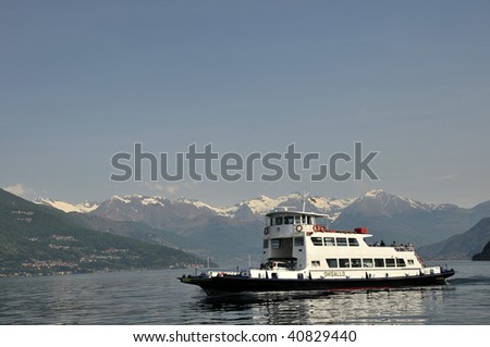 Ferry on Lake Como