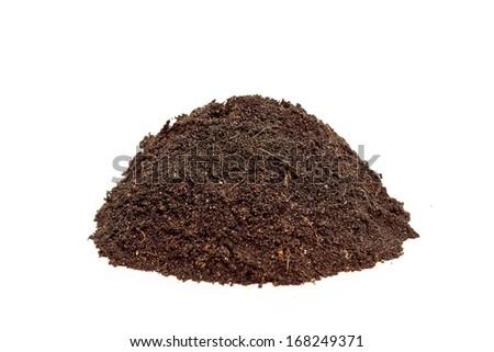 fertile soil - stock photo