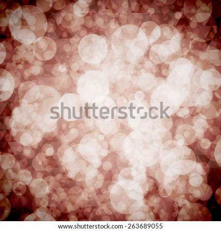 Festive background. Elegant abstract background with bokeh defocused lights. - stock photo