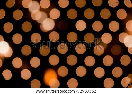 festive background with defocused light net - stock photo