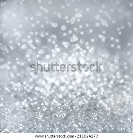 Festive background with shining glitter effect