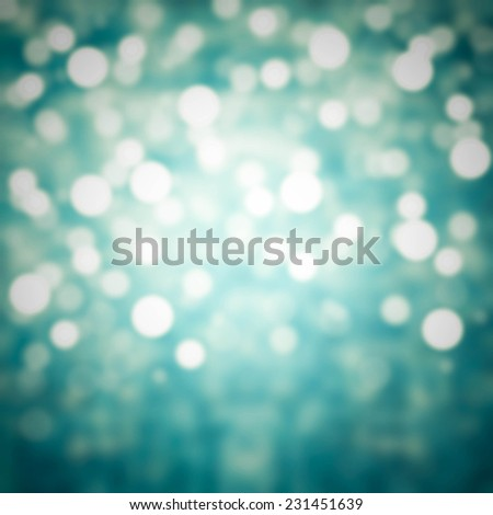 Festive blur background with natural bokeh and bright golden  lights. - stock photo
