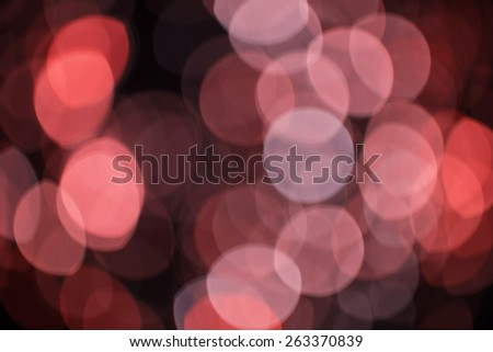Festive bokeh background. Abstract twinkled bright background with blurred lights. - stock photo