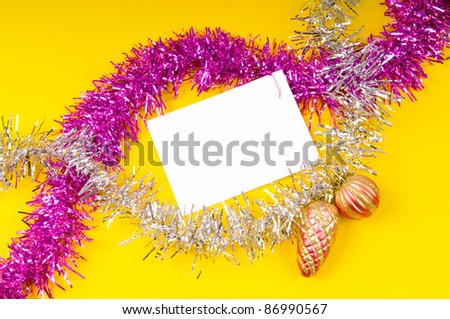 Festive concept for your message - stock photo