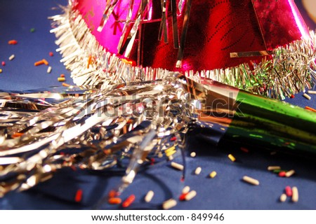 Festive Party Scene - stock photo