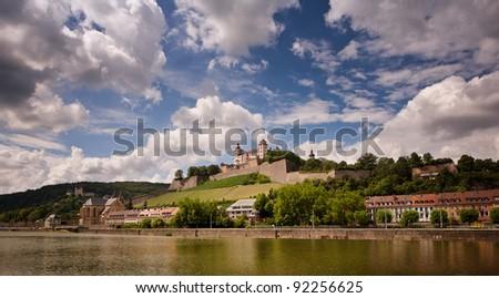 Festung Marienberg Würzburg - stock photo