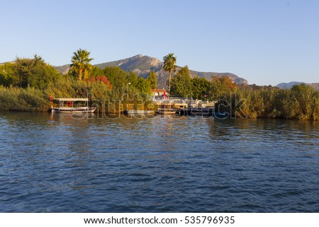 FETHIYE, TURKEY , 2016  OCTOBER 22: A family and friends on holiday