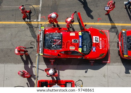 FIA GT Championship 2007 - Czech Republic - stock photo