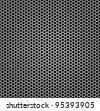fiber metal chrome silver texture - stock photo