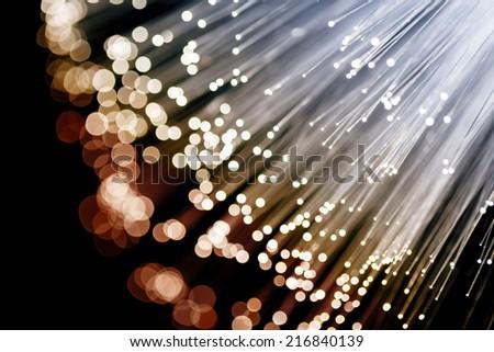 Fiber Optics  - stock photo