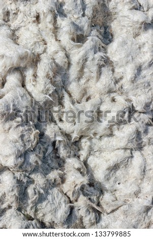 fiberglass as background - stock photo