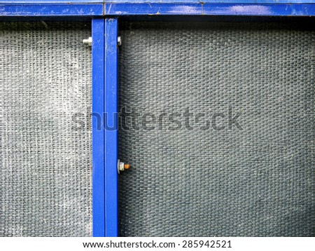 fiberglass with metal structure - stock photo