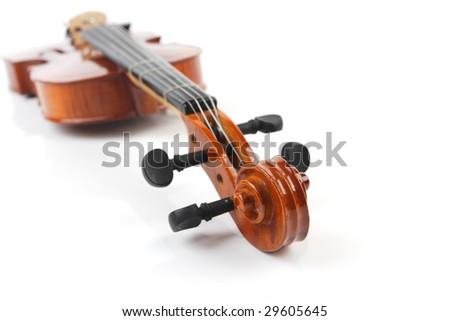 fiddle - stock photo