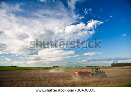 field agriculture - stock photo