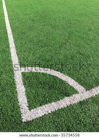 Field Corner - stock photo