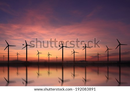Fields of turbine power