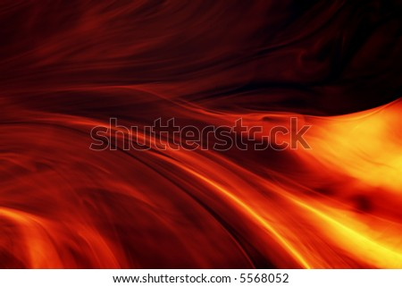 fiery background - stock photo