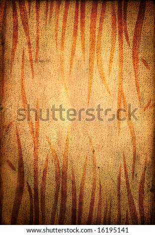 Fiery grungy background - stock photo