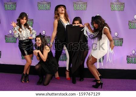 Fifth Harmony at the Hub Network First Annual Halloween Bash. Barker Hangar, Santa Monica, CA 10-20-13 - stock photo