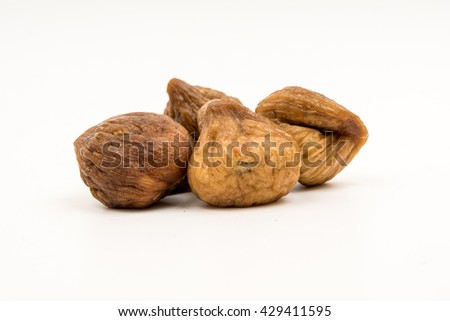 fig isolated on white background