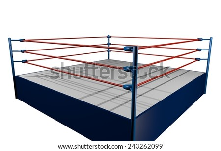 Fight wrestling - stock photo